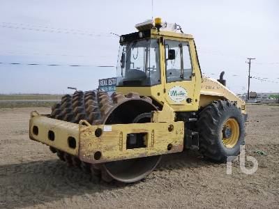 2007 BOMAG BW 213PDH-40 Vibratory Padfoot Compactor