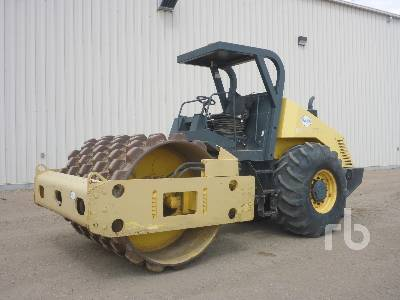 2001 BOMAG BW 213PDH-3 Vibratory Padfoot Compactor