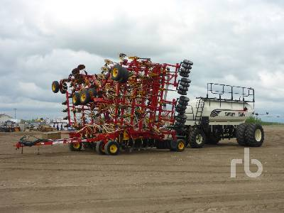 2009 BOURGAULT 5710 Series II 60 Ft Tow-Between Air Drill