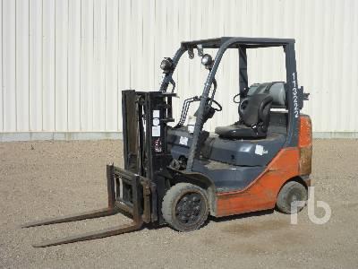 2007 TOYOTA 8FGCU25 4700 Lb Forklift