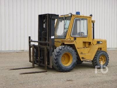 1988 CATERPILLAR R80 8000 Kg Rough Terrain Forklift
