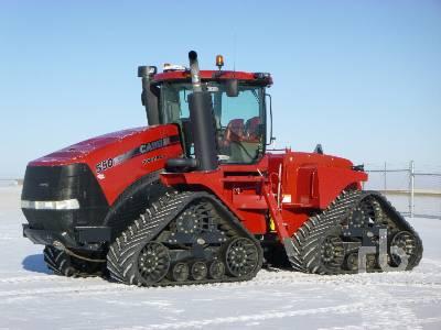 2013 CASE IH STEIGER 550 Quadtrac Track Tractor