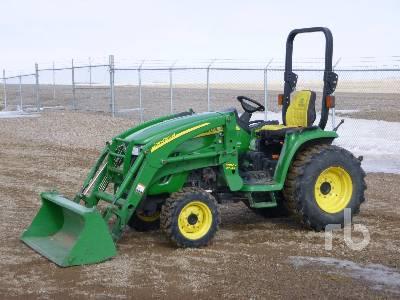 2008 JOHN DEERE 3320 MFWD Utility Tractor