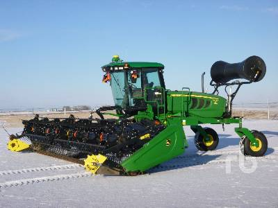 2016 JOHN DEERE W150 35 Ft Swather