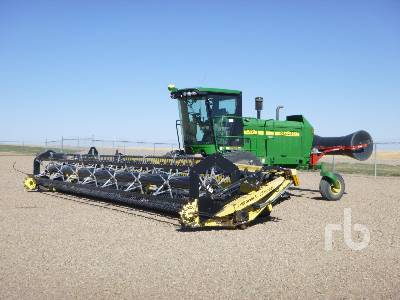 2008 JOHN DEERE 4895 36 Ft Swather