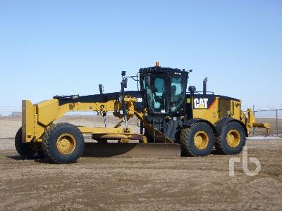 2016 CATERPILLAR 14M VHP Plus Motor Grader