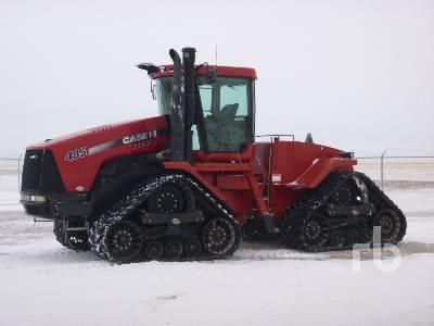 2009 CASE IH STEIGER 485 Quadtrac Track Tractor