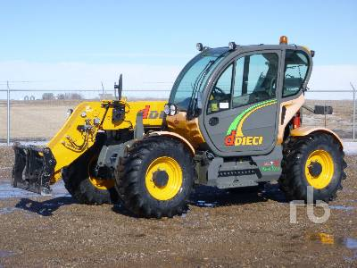 2011 DIECI AGRI TECH 35.7 7710 Lb 4x4x4 Telescopic Forklift