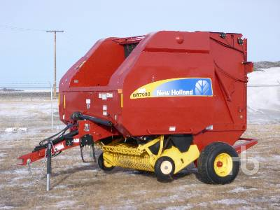 NEW HOLLAND BR7090 Round Baler