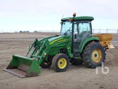 2011 JOHN DEERE 4320 MFWD Utility Tractor
