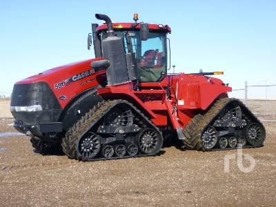 2018 CASE IH STEIGER 580 Quadtrac Track Tractor