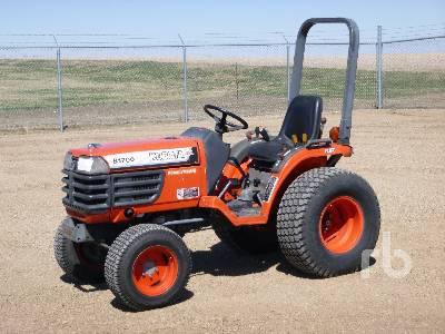 KUBOTA B1700 4WD Utility Tractor
