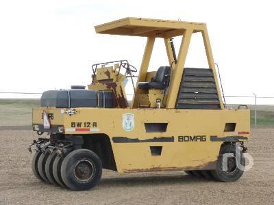 BOMAG BW12R 9 Wheel Pneumatic Roller
