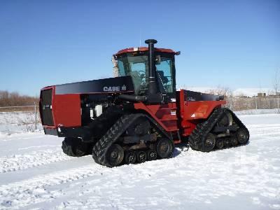 1999 CASE IH STEIGER 9380 Quadtrac Track Tractor
