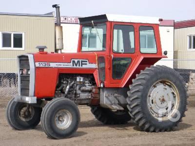 1977 MASSEY FERGUSON 1135 2WD Tractor