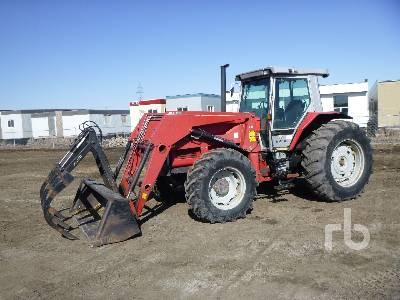 1989 MASSEY FERGUSON 3680 MFWD Tractor
