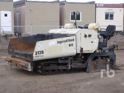 2005 INGERSOLL-RAND PF3120 Crawler Asphalt Paver