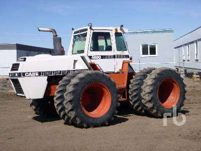 1982 CASE 4890 4WD Tractor