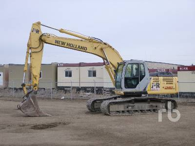 2008 NEW HOLLAND E215B Hydraulic Excavator