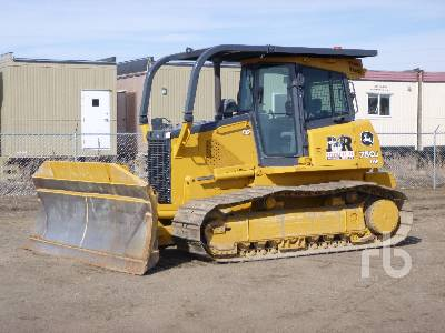 2005 JOHN DEERE 750J LGP Crawler Tractor