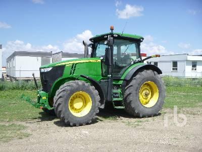 2012 JOHN DEERE 7280R MFWD Tractor