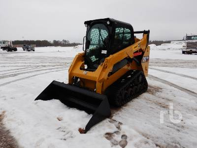 2016 CATERPILLAR 257D 2 Spd Multi Terrain Loader