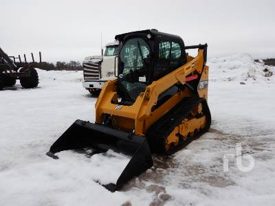 2016 CATERPILLAR 259D 2 Spd Multi Terrain Loader