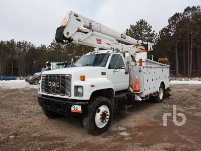 2000 GMC C8500 S/A w/Hi-Ranger HR46M Bucket Truck