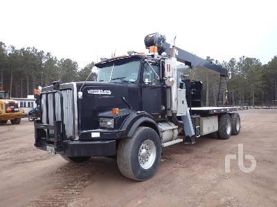 1990 WESTERN STAR 4900 w/JLG 1400BT 14 Ton Boom Truck