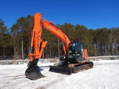 2013 HITACHI ZX135US-5 Hydraulic Excavator