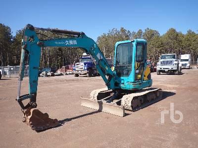 KUBOTA KX161-3SZ Midi Excavator (5 - 9.9 Tons)