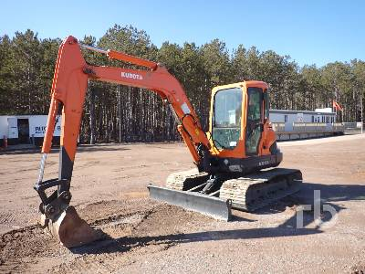 KUBOTA KX161-3 SZ Midi Excavator (5 - 9.9 Tons)