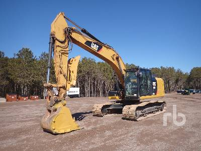 2012 CATERPILLAR 320E Hydraulic Excavator