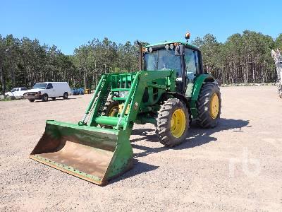 2007 JOHN DEERE 6330 MFWD Tractor