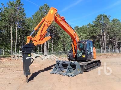 2017 HITACHI ZX135US-6 Hydraulic Excavator