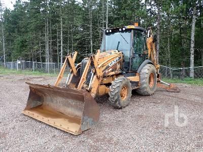 2012 CASE 580 SUPER E 4x4 Loader Backhoe