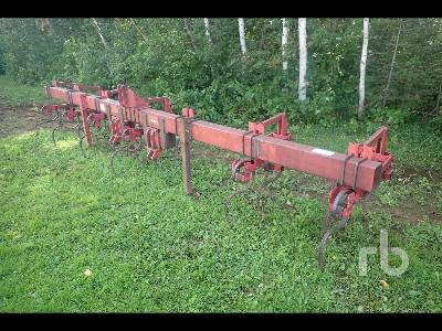 WIL-RICH 6 Row Mount S-Tine 19 Ft Cultivator