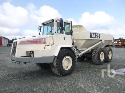 2002 TEREX TA25 6x6 Articulated Dump Truck