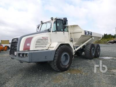 2004 TEREX TA27 6x6 Articulated Dump Truck