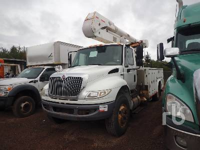 2012 INTERNATIONAL 4400 S/A w/Altec A0445 Bucket Truck