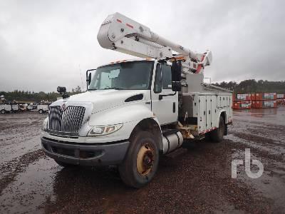 2013 INTERNATIONAL 4400 S/A w/Altec A0445 Bucket Truck