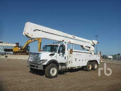 2012 INTERNATIONAL 7400 Workstar T/A w/Altec A77-TE93 Bucket Truck