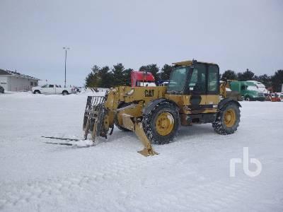 2000 CATERPILLAR TH83 8000 Lb 4x4x4 Telescopic Forklift