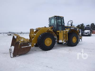 2000 CATERPILLAR 980G Series II Wheel Loader