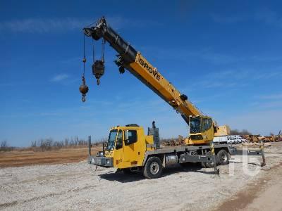 GROVE TMS500E Hydraulic Truck Crane