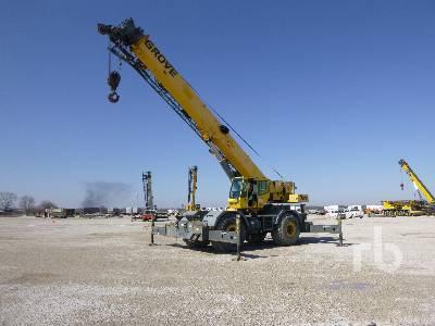 2006 GROVE RT760E 60 Ton Rough Terrain Crane