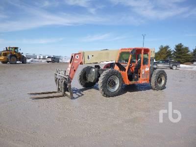 2008 JLG G943A 9000 Lb 4x4x4 Telescopic Forklift