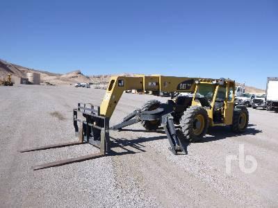 2007 CATERPILLAR TL943 9000 Lb Telescopic Forklift