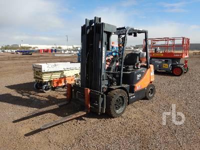 2012 DOOSAN G30P-5 4500 Lb Forklift