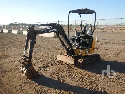 2018 JOHN DEERE 17G Mini Excavator (1 - 4.9 Tons)